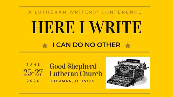 Here I write